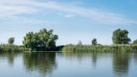 Riverbank del Danubio fotos de archivo