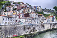 Riverbank Of The Douro River Stock Photo
