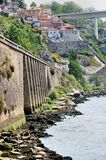 Riverbanks of Douro Stock Image
