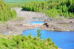riverbed Imagenes de archivo
