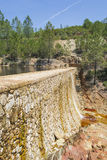 "Riverbed w ""Minas De Riotinto†, Huelva Fotografia Royalty Free"