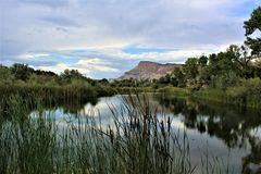 Riverbend Park II, Palisade Colorado royalty free stock images