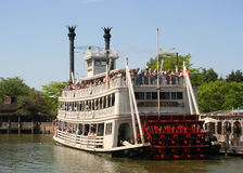 Riverboat del Disneyland Fotografia Stock Libera da Diritti