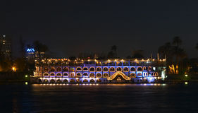 Riverboat del Nilo immagine stock