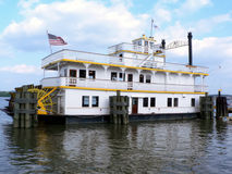 Riverboat - docked Stock Photography
