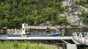 Riverboat Le Menaud Royalty Free Stock Image