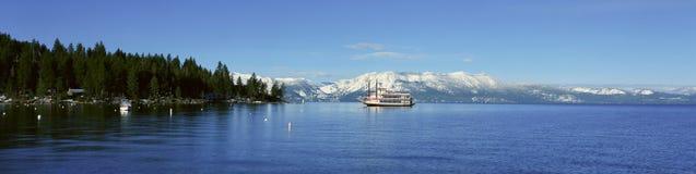 Riverboat Na Jeziornym Tahoe Obraz Royalty Free