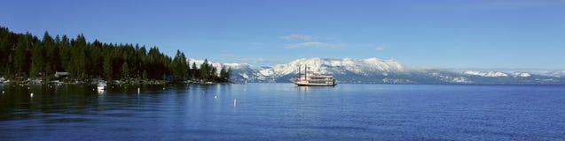 Riverboat Na Jeziornym Tahoe, Kalifornia Obraz Stock