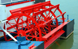 Riverboat Paddle Wheel Stock Photos