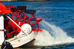 Free Riverboat Paddle Wheels Stock Image - 77040981
