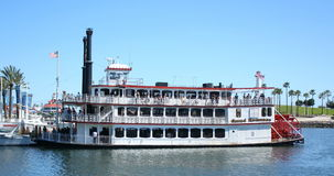 Riverboat romance grande Fotografia de Stock