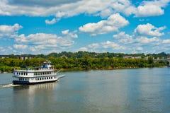Riverboat Southern belle di Chattanooga Fotografia Stock