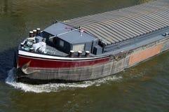 Riverboat sul fiume Fotografia Stock