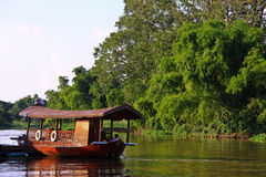 riverboat supanburi ταϊλανδική Ταϊλάνδη Στοκ εικόνα με δικαίωμα ελεύθερης χρήσης