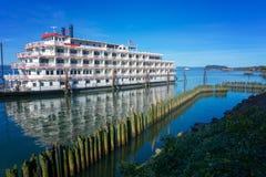 Riverboat w Astoria, Oregon Zdjęcia Royalty Free