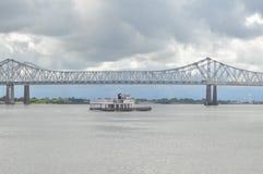 Riverboatkreuzfahrt Stockbild