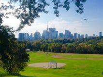 Riverdale Park Toronto view