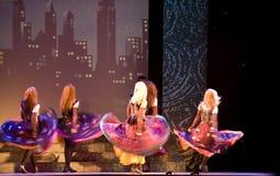 riverdance Ирландии Стоковая Фотография