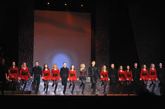 Riverdance from ireland Royalty Free Stock Photography