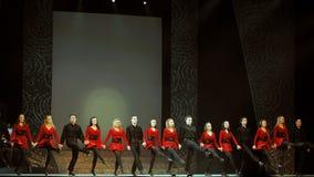Riverdance van Ierland Royalty-vrije Stock Fotografie