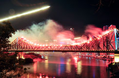 Riverfire Festival in Brisbane Royalty Free Stock Photography