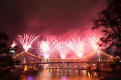 Riverfire Festival in Brisbane Royalty Free Stock Photo