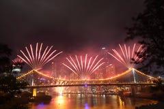 Riverfire Festival in Brisbane Royalty Free Stock Photo