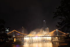 Riverfire Festival in Brisbane Stock Photo