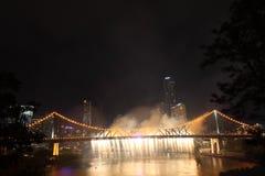 Riverfire Festival in Brisbane Stock Photo