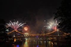 Riverfire Festival in Brisbane Royalty Free Stock Photos