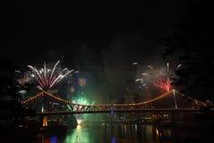 Riverfire Festival in Brisbane Stock Photography