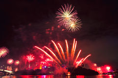 Riverfire Festival in Brisbane - 2014 Royalty Free Stock Images