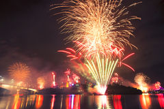 Riverfire Festival in Brisbane - 2014 Stock Photos