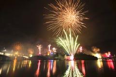 Riverfire Festival in Brisbane - 2014 Royalty Free Stock Image