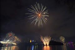 Riverfire Festival in Brisbane - 2014 Stock Image