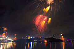 Riverfire Festival in Brisbane - 2014 Royalty Free Stock Photography