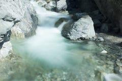 Riverflow μαλακό ύδωρ Στοκ Εικόνες