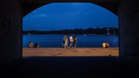 riverfront Image libre de droits