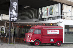 Riverfront Bar at the British Film Institute - BFI, South Bank, London, England, UK Stock Photos