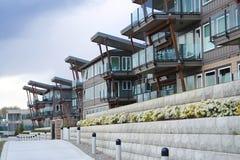 Riverfront Condominiums. Stock Images