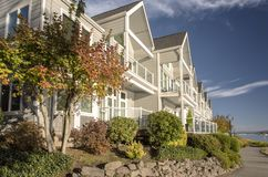 Riverfront condominiums properties Vancouver WA. Stock Image