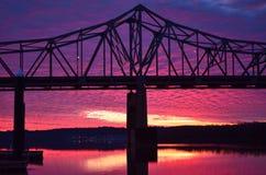Riverfront Sunrise #1 Royalty Free Stock Images