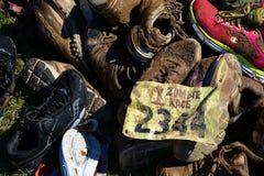 Riverhead NY,美国, 2014年9月-蛇神种族 免版税库存照片