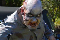 Riverhead NY, США, сентябрь 2014 - гонка зомби Стоковые Фото