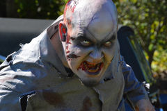 Riverhead NY, EUA, em setembro de 2014 - raça do zombi Fotos de Stock