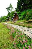 Riverkwai Cabin Tropical Resort in Kanchanaburi Stock Photos