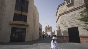 Riverland en los parques y los centros turísticos de Dubai imagen de archivo libre de regalías