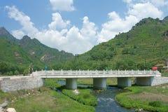 Riverlet And Bridge Stock Image