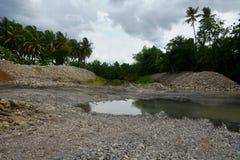 Rivermix в Davao del Sur, Филиппинах Стоковая Фотография RF