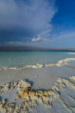 Rivers of Assal Lake in Djibouti, Africa Stock Photos